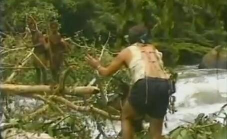 Imagini incredibile:Cum reactioneaza un trib din Papua Noua Guinee la prima intalnire cu oameni albi