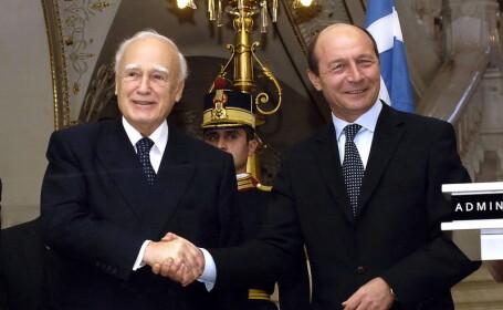 Basescu, presedintelui Greciei: Cu usurinta ati fi putut spune \