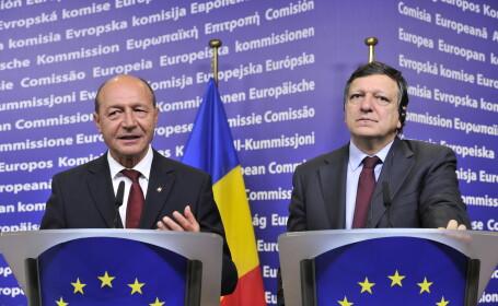 Jose Manuel Barroso si Traian Basescu