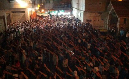 Manifestatie masiva antiregim in Siria: 250.000 de oameni au iesit in strada. Cel putin 45 de morti
