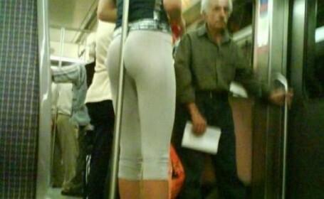 fata la metrou