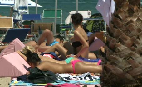 10.000 de turisti, pe litoral weekendul acesta. Preturile din statiuni si parerile romanilor. VIDEO