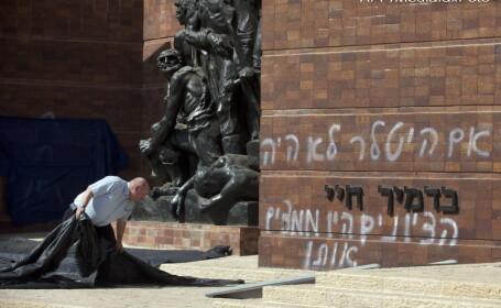 mesaj antisemit, muzeul Holocaustului