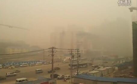 Ceata densa Wuhan, China