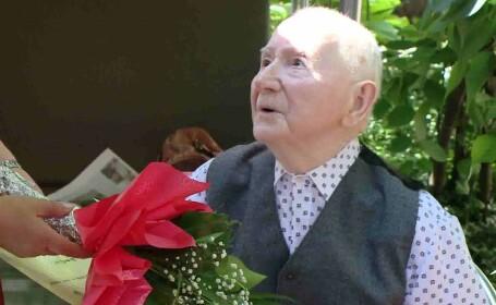 cel mai batran timisorean la 107 ani