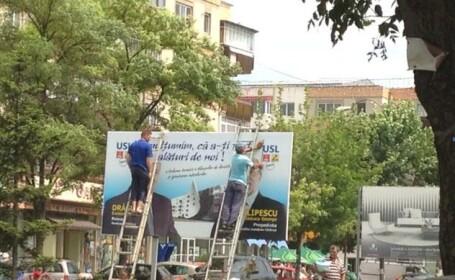 O gafa a amuzat un oras intreg din Romania. Ce anunt au citit oamenii pe un afis montat dupa alegeri