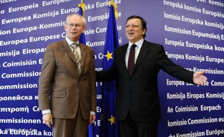 Van Rompuy si Barroso se vor intalni cu fiecare participant la Consiliul UE pe tema bugetului