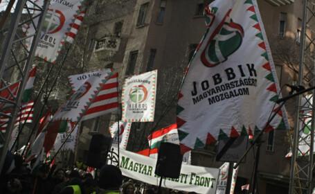 miting partidul Jobbik, Ungaria