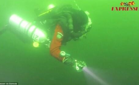 VIDEO. Noi detalii despre ciudatul obiect gasit in Marea Baltica. \