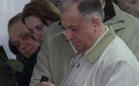 Ion Iliescu si Adrian Nastase