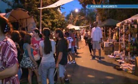 Dintr-o zona rau famata, strada Matasari din Capitala a devenit scena unui festival urban
