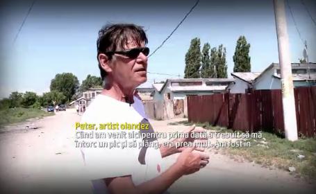 Olandezii se vindeca de vicii in Romania reparand casele tiganilor. \