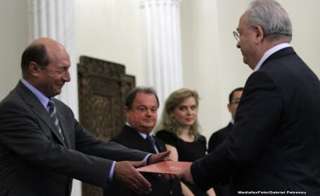 Traian Basescu si Puiu Hasotti