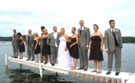 Nunta in lac