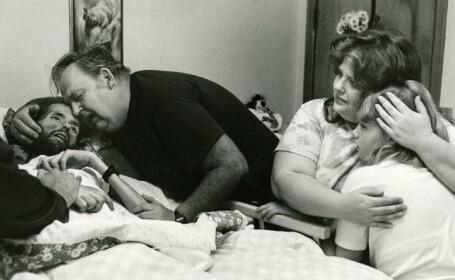 David Kirby pe patul de moarte