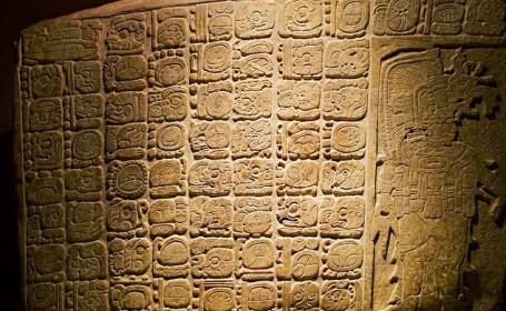 O noua inscriptie mayasa sustine ipoteza unui \