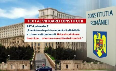 Remus Cernea, despre prevederile noii Constitutii: \