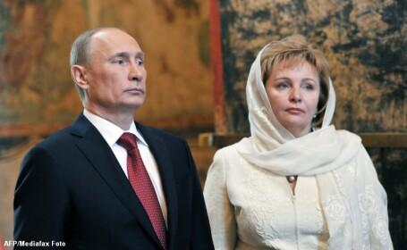 Vladimir Putin si sotia