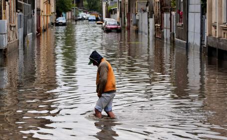 Avertizare cod portocaliu de inundatii pe raul Barlad si pe afluentii din judetul Vaslui