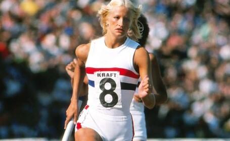 Atleta britanica Donna Hartley a murit in timp ce facea plaja, in gradina casei sale