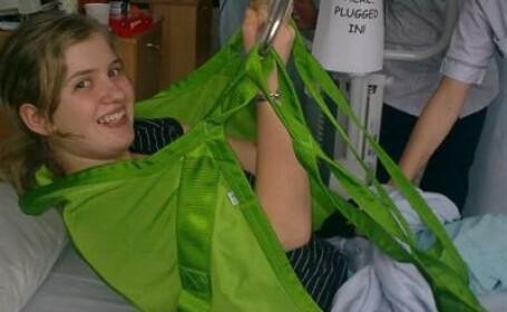 Credea ca va ramane paralizata, dar un incident banal i-a schimbat radical viata. \