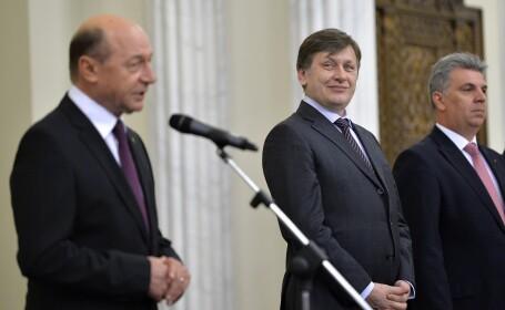 Traian Basescu, Crin Antonescu