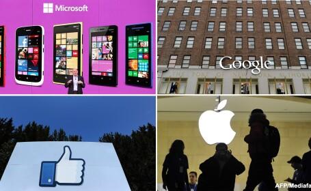 Google, Facebook, Microsoft