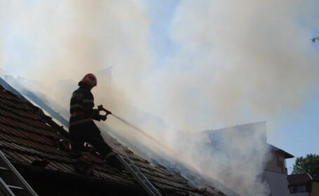 incendiu fum