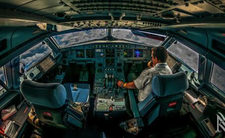 FOTO. Pilotul-fotograf deschide usa catre imaginile care iti sunt interzise intr-un avion