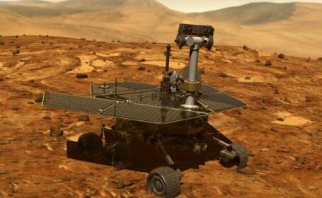 robotul Spirit pe Marte