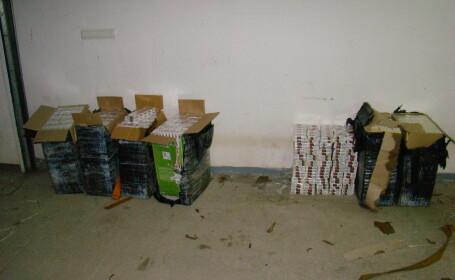10.000 pachete de tigari de contrabanda confiscate de politistii de frontiera