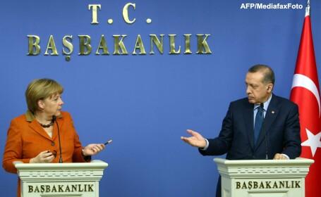 Angela Merkel, Recep Erdogan