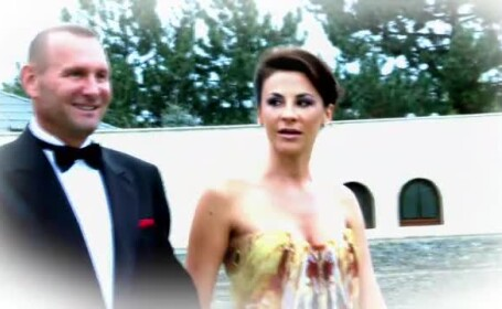 Medicul estetician Adina Alberts si miliardarul Viorel Catarama formeaza de sambata o familie