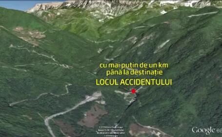 grafica harta accident autocar Muntenegru