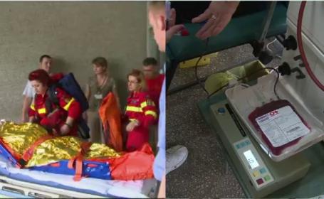 Lectia locuitorilor din Muntenegru, invatata de romani. Au donat 100 de pungi de sange pentru raniti