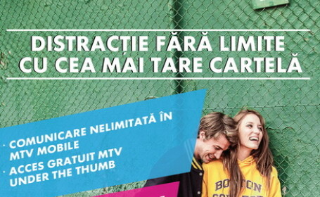 MTV Mobile cu aplicatia MTV Under The Thumb – o premiera in Romania, lansata de MTV si COSMOTE