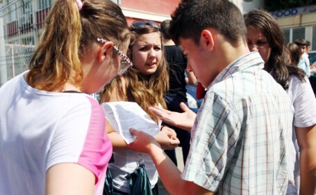 Elevi, evaluare nationala, examen