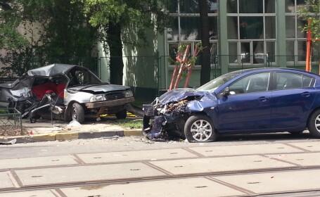 Doua femei si-au pierdut viata intr-un teribil accident, chiar in fata Primariei Sectorului 4