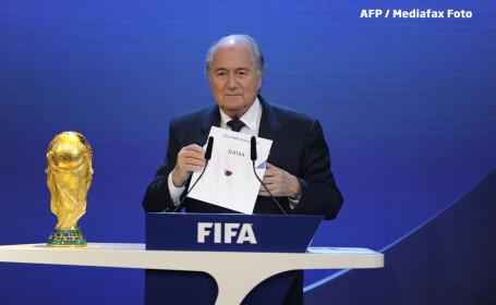 Sepp Blatter anunta ca CM 2022 va fi in Qatar