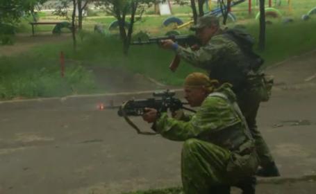 Ucraina, impuscaturi