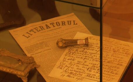 manuscrisele lui Eminescu la MNLR