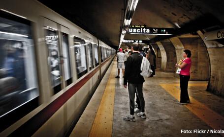 Roman ucis in imprejurari misterioase la metroul din Roma. Ar fi fost linsat de calatori dupa o tentativa de furt