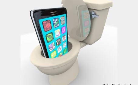 telefon in WC
