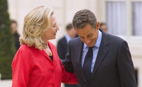 Hillary Clinton, Nicolas Sarkozy