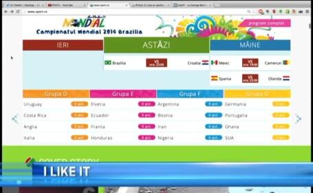 Campionatul Mondial de Fotbal 2014 la iLikeIT. Urmariti toate informatiile de pe telefon, tableta sau calculator