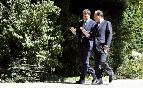 Renzi si Hollande
