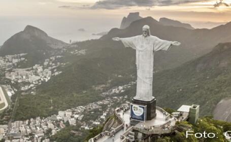 statuie Iisus Mantuitorul din Rio