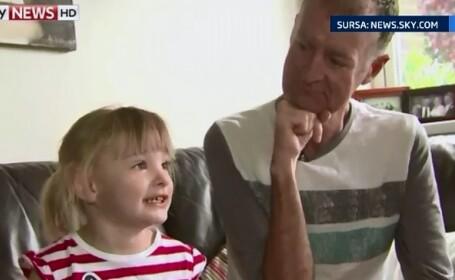 Gestul emotionant al unui tata condamnat de boala la moarte. Ce cale a gasit de a ii fi alaturi fiicei de dincolo de mormant