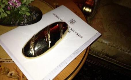 Misterul painii de aur din palatul fostului presedinte al Ucrainei. \