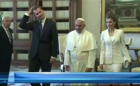 STIRI EXTERNE PE SCURT. Regele Felipe si sotia sa, vizita la Vatican; Islamistii au reinstaurat califatul